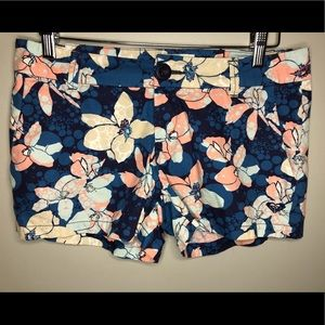 Roxy size small floral shorts